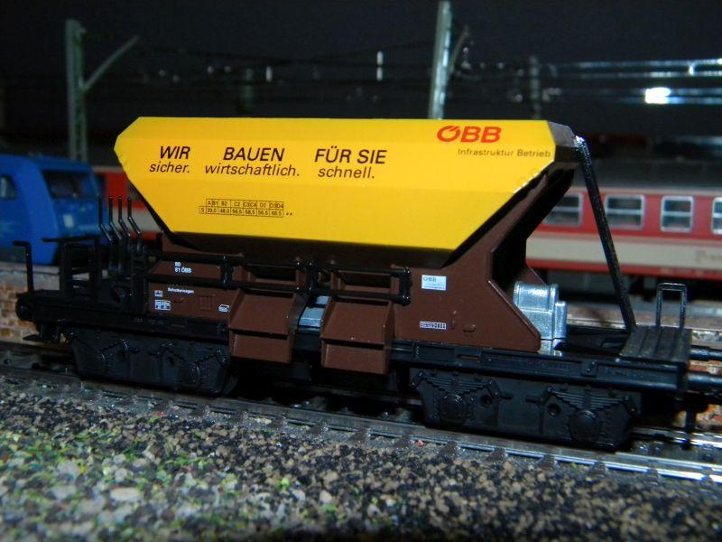 Kleinbahn 361 Schotterwagen ÖBB 361_0011